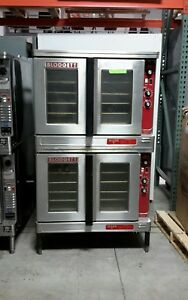 Used Blodgett Mark v 111 Double Deck Electric Convection Oven