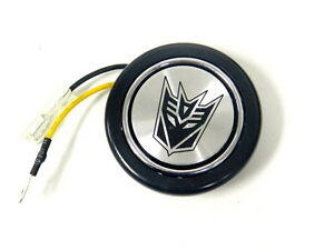 Transformers Decepticon Steering Wheel Horn Button
