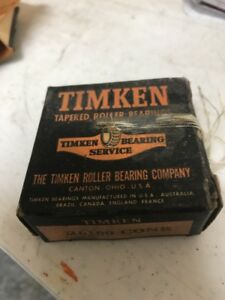 Timken 26100 Tapered Roller Bearing Single Cone 1 Bore 745 Width New In Box