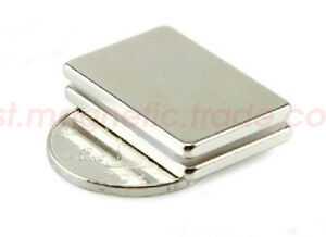 Wholesale 40mm X 30mm X 4mm Block Super Strong Rare Earth Neodymium Magnets N50