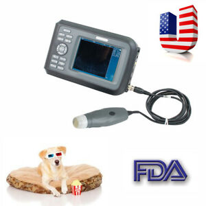 Vet Veterinary Portable Ultrasound Scanner Machine Cow horse animal Rectal Usa