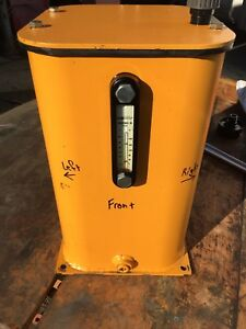 Hydraulic Oil Reservoir 5 Gallon Tank With Breather