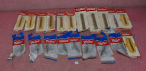 Lot Of 20 Weller Soldering Tips