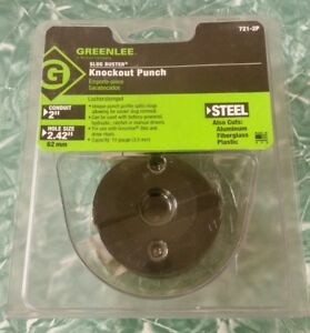 Greenlee 721 2p 2 Conduit size Slug buster Replacement Punch