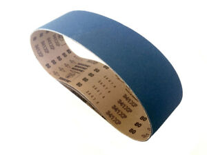 Sanding Belts 4 X 36 Zirconia Cloth Sander Belts 6 Pack 24 Grit