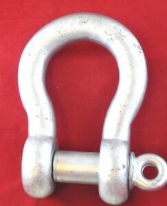 20 Ton Cm Ce Rigging Shackle Clevis 1 1 2 With 1 5 8 Pin Wll 20t Usa