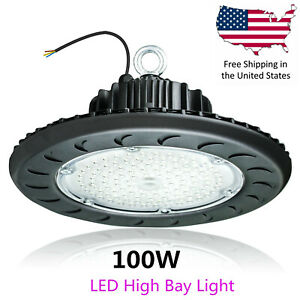 UFO High Bay LED Shop Light 100200150W for Commercial Warehouse Garage Factory $59.95