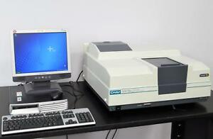 Agilent Varian Cary 300 Bio Uv vis Spectrophotometer W Pc Cary Winuv Software
