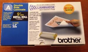 Brother Lc d9r Cool Laminator 9 Refill Roll For Lx 900 Lx 910d 65 6 Ft
