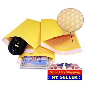 2000 000 4x8 Kraft Bubble Padded Envelopes 4 5 X 8 X wide Mailers Bags