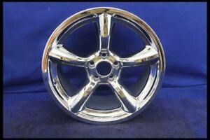2005 2009 Ford Mustang Saleen Heritage Chrome 19x10 Wheel Nos New Old Stock 19