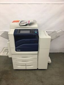 Xerox Workcentre 7835 Color With Office Finisher Prints Up To 11x17 Meter 223k