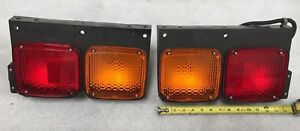 Jdm Iki 4159 Universal Box Truck Trailer Tractor Boat Rear Tail Lamps Lights