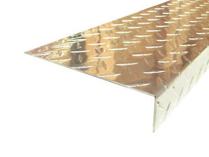 Aluminum Diamond Plate Angle 062 X 1 5 X 7 5 X 48 In 3003 Uaac 2pcs