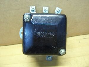 Vintage Nos Delco Remy Starter Generator Regulator Clinton Gas Engine 12v