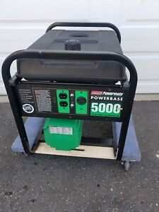Powermate Pm0545305 5000 6250 Watt Portable Generator W 10hp Engine