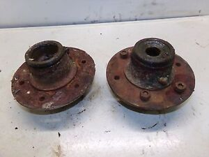 Oliver 60 Tractor Front Wheel Hubs