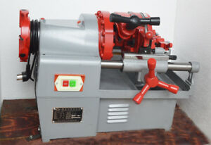 220v Electric Pipe Threader Machine Electric Threading Machine deburrer New Best