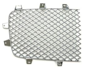 Bentley Continental Gt Right Chrome Grill Mesh