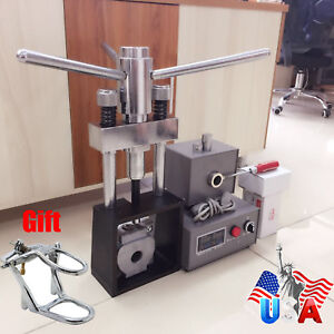 400w Dental Flexible Denture Machine Dentistry Injection System Lab Equipment Us