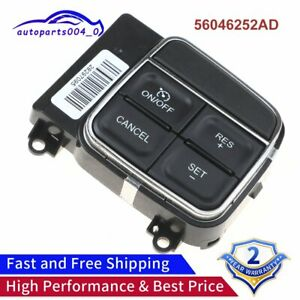 Steering Wheel Cruise Control Switch 56046252ad Fits 2011 17 Chrysler Dodge Jeep