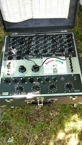 Excellent Working B k 700 Mutual Conductance Tube Tester