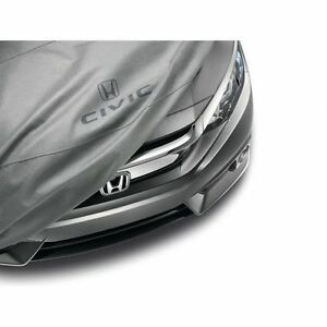 New Oem Honda Car Cover Fits All 2017 18 Civic 5dr Hatchback excl Type r