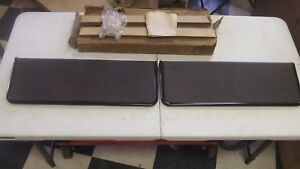 Nos Gm 1947 53 Chevy Gmc Truck Pair Of Running Board Step Plates 986328