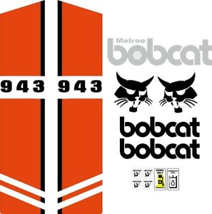 943 C Replacement Decals Decal Kit Sticker Set Skid Loader Steer Fits Bobcat