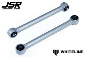 05 14 Mustang All Models Whiteline Fixed Rear Lower Control Arms Pair