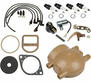 Ignition Tune Up Kit For Ford 9n 2n 8n Tractors With Front Mount Distributor