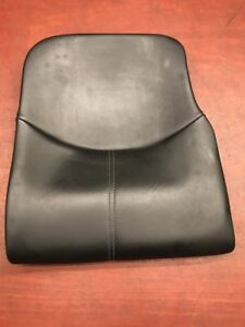 2007 Porsche 911 997 Carrera C4s Rear Lower Seat Black Leather Oem
