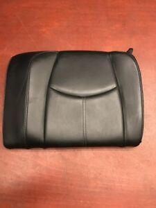 2007 Porsche 911 997 Carrera C4s Rear Upper Seat Black Leather Oem
