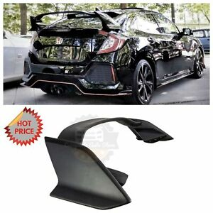 Type R Style Rear Trunk Spoiler For 2017 Honda Civic Hatch Hatchback Unpainted
