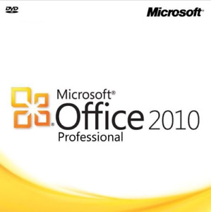 Microsoft Office 2010 Professional 32 64 Bit Retail For 3 Pcs