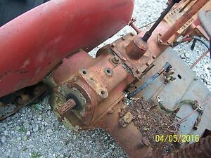 International Farmall Cub Tractor Transmission Rear End Assm Differential Pto