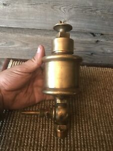 Vintage Penberthy Injector Co lubricator Brass Oiler Steam Hit And Miss Engine