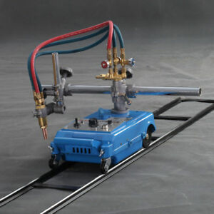 Torch Track Burner Portable Handle Gas Cutting Machine 110v Acetylene Nozzle