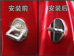 For Car Accessories Mazda 3 6 Cx 5 Cx3 Stainless Steel Door Lock Protector Cover