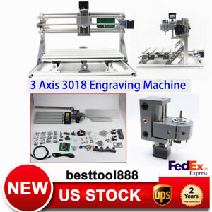3 Axis Grbl Control Cnc Router Laser Engraving Machine Wood Diy Printer