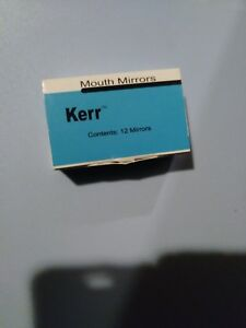 Kerr Dental Mouth Mirrors 5 12 Pack