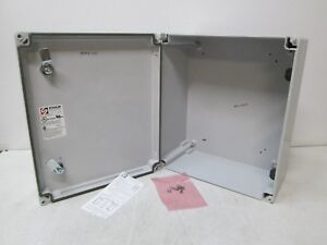 Stahlin Wall Mount Enclosure Solarguard Cl1513hl Classic 15 X 13 X 7 New