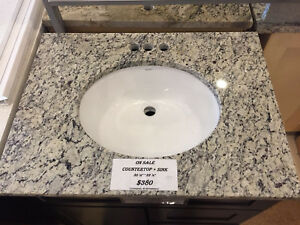 Granite Counter Top With Under Mount Sink 30 1 2 X 22 1 2