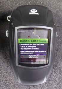 New Miller Electric Digital Elite Series Welding Helmet 3 82 X 2 4 281000 m