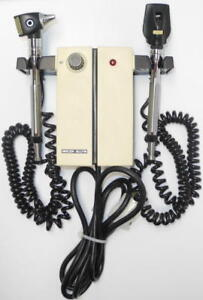 Welch Allyn 74710 Transformer With Two Heads Otoscope Ophthalmoscope