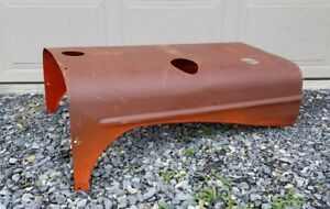 Allis Chalmers Wd Wd45 Wc Wf Tractor Original Engine Motor Hood Cover Ac Clean