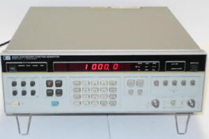 Hewlett Packard Hp 3325a Synthesizer Function Generator