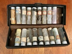 Antique Traveling Doctor S Kit Quack Medicine W Contents Apothecary Pharmacy