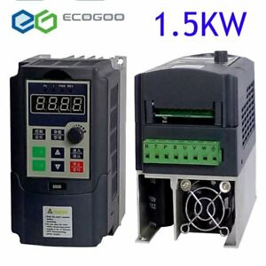1 5kw Vfd 7a 220v Single Phase Speed Variable Frequency Drive Inverter Ip20 Mx