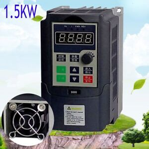 1 5kw 3hp 7a 220vac Single Phase Variable Frequency Drive Inverter Vsd Vfd mx